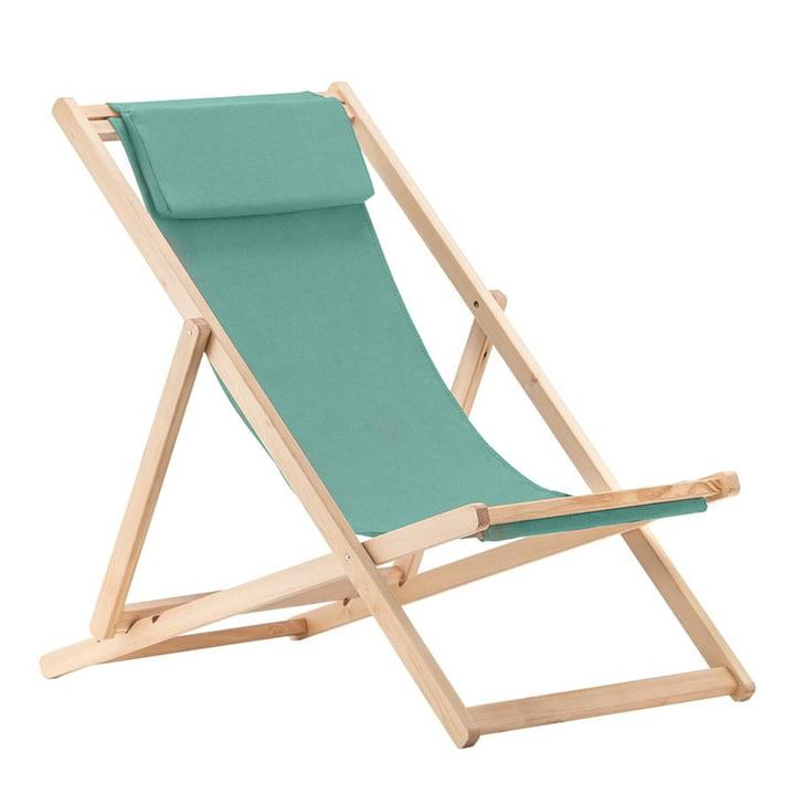 Chaise longue relax, Robinia in aqua de Fiam