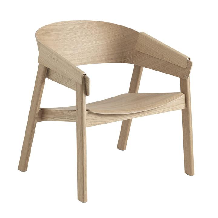 Cover Lounge Chair en chêne de Muuto
