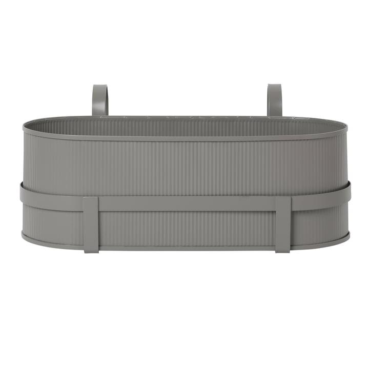 Bau Balcony Box par Ferm Living en warm grey