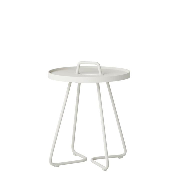 On-the-move Table d'appoint Ø 37 x H 42 cm de Cane-line en blanc