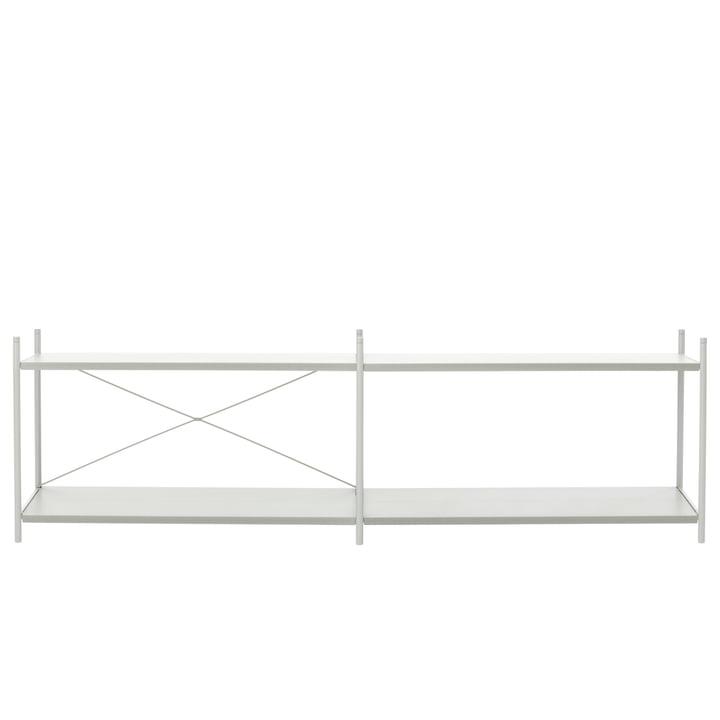 Système d'étagères ponctuelles 2x2 en gris de ferm Living