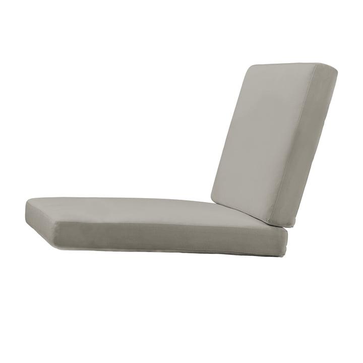 Coussin d'assise pour chaise de jardin BK10 de Carl Hansen en charbon de bois Sunbrella 54048