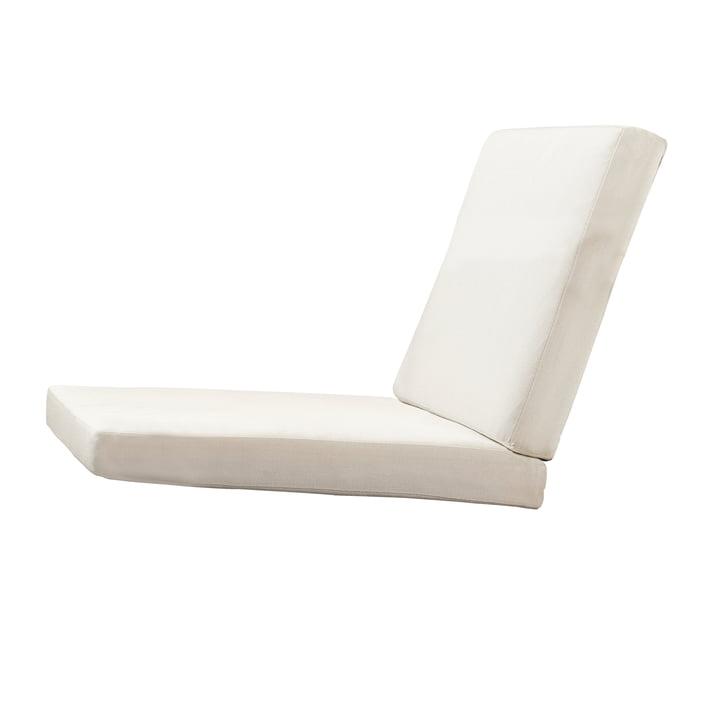 Coussin d'assise pour fauteuil BK11 Lounge Chair de Carl Hansen en toile Sunbrella 5453
