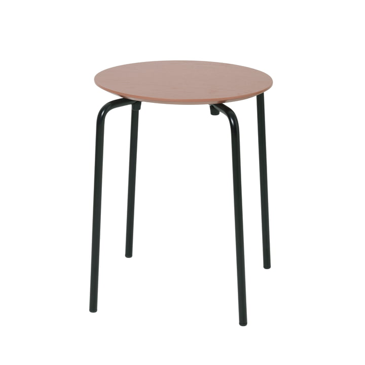 Tabouret Herman par ferm Living in dark rose