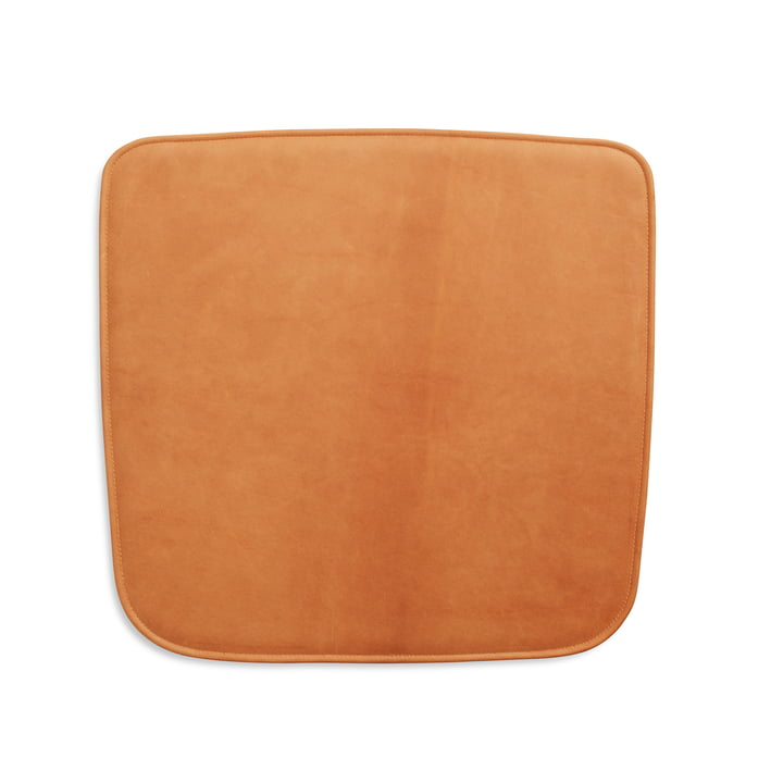 Coussin d'assise pour fauteuil Hven de Skagerak en cognac (Cuir protégé)