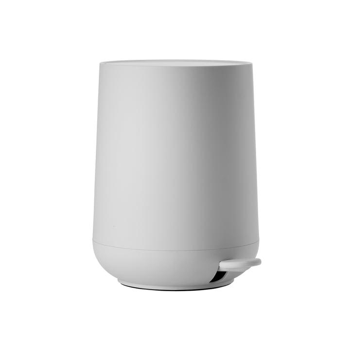 Nova poubelle à pédale 3 L en gris clair de Zone Danemark