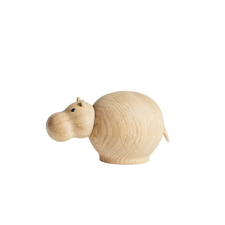 Hibo Hippo in mini de Woud en chêne laqué mat