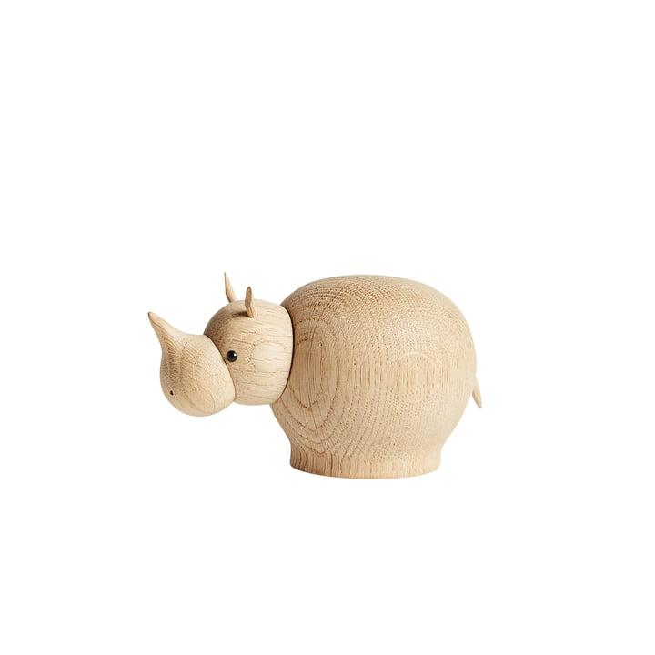 Rina Rhino in mini de Woud en chêne laqué mat