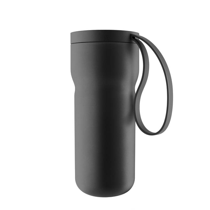 Tasse à thé Thermo Cuisine nordique par Eva Solo en noir
