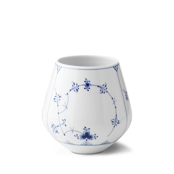 Vase à moules nervuré moyen H 15 cm à partir du Royal Copenhagen