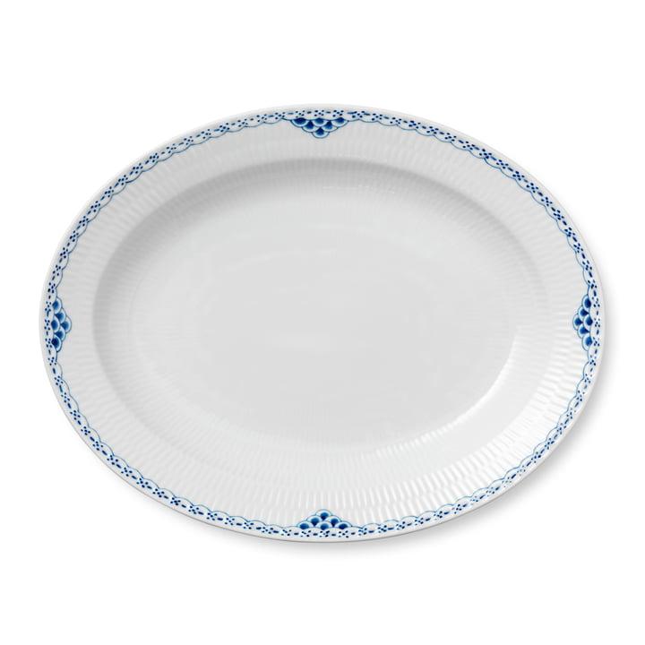 Assiette de présentation princesse ovale 36,5 cm du Royal Copenhagen