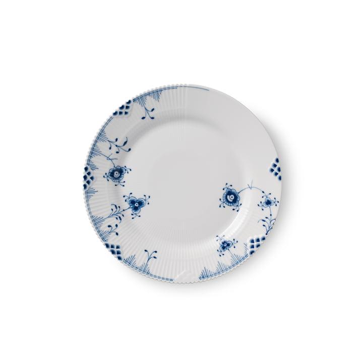Elements Plaque bleue plate Ø 19 cm du Royal Copenhagen