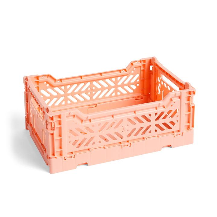 Couleur Panier à caisses S, 26,5 x 17 cm par foin en couleur saumon