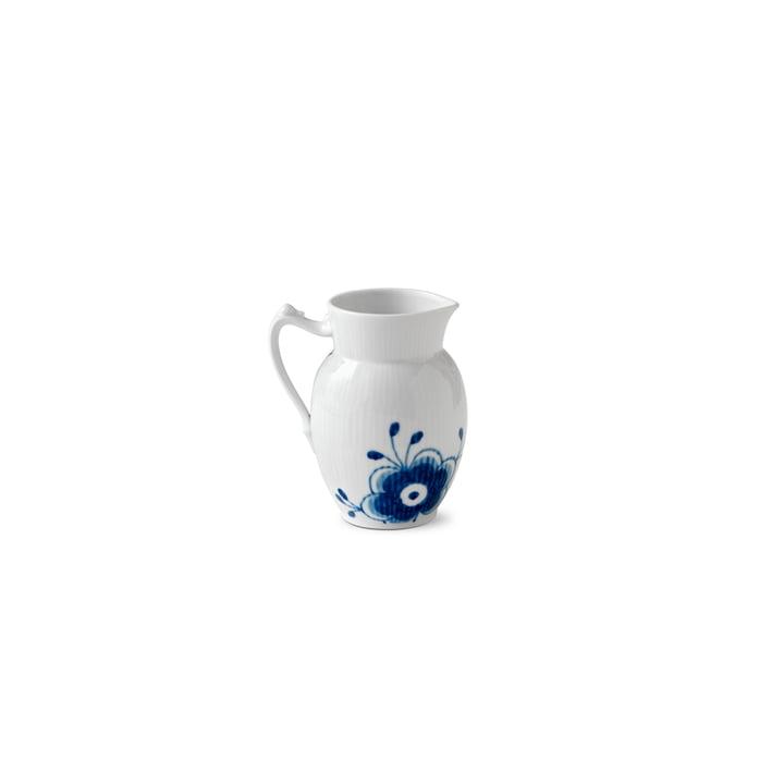 Pot à lait Mega Blue Ribbed 38 cl de Royal Copenhagen