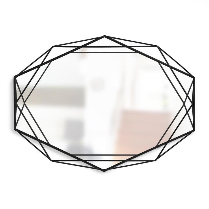 Miroir prismatique d'Umbra en noir