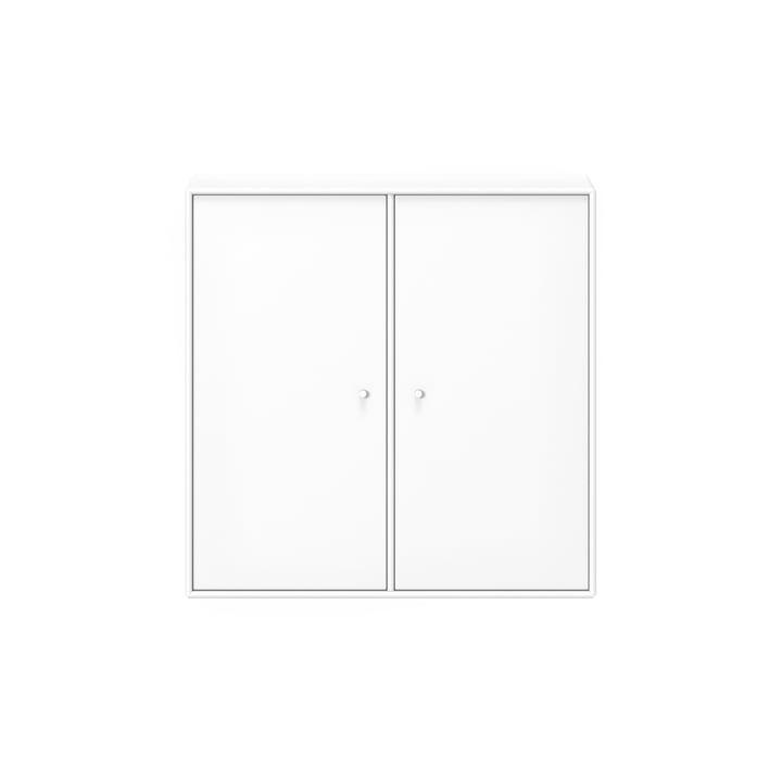 Armoire de toilette avec étagère et suspension Montana en blanc neuf