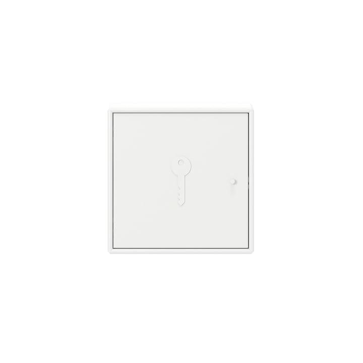 Déverrouiller l'armoire à clés avec suspension murale Montana en blanc neuf