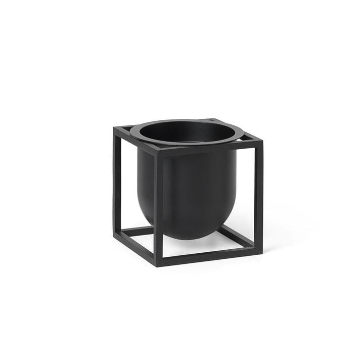 Kubus Flowerpot 10 de Lassen en noir