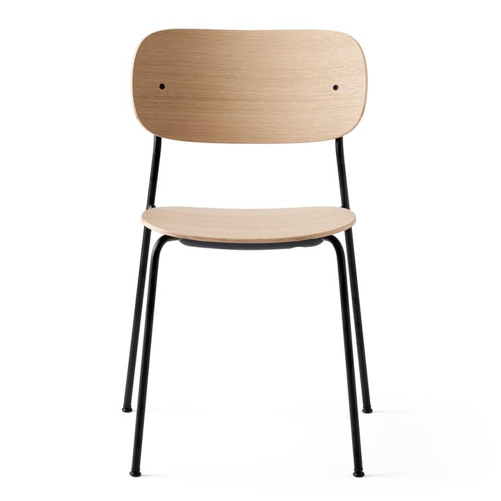 Co Dining Chair en noir / chêne naturel de Menu