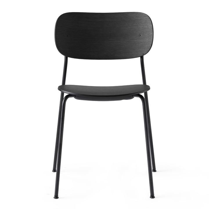 Co Dining Chair en noir / chêne noir de Menu
