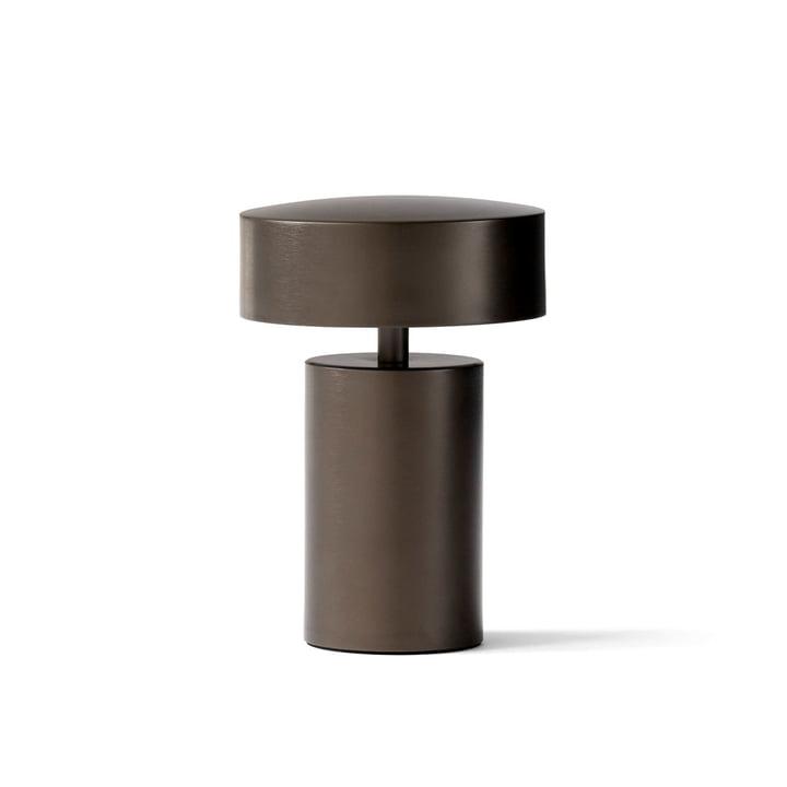 Colonne lampe de table en bronze par Menu