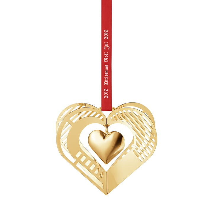 Christmasmobile 2019 Heart, or de Georg Jensen