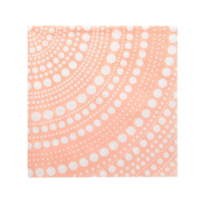 Serviette en papier Kastehelmi 33 x 33 cm de Iittala en poudre