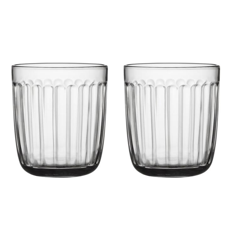 Verre à boire Raami 26 cl (set de 2) d'Iittala en clair
