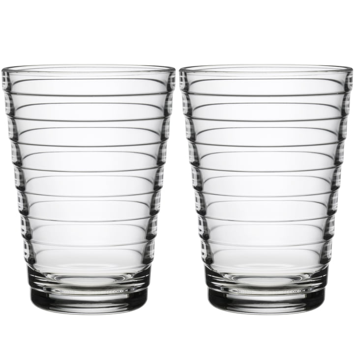 Verre à long drink Aino Aalto 33 cl d'Iittala en clair (lot de 2)