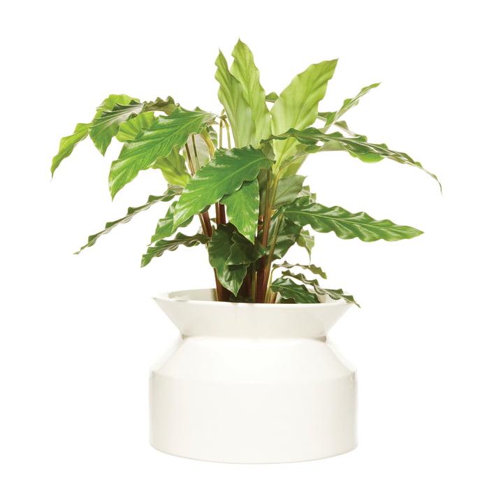 Pot à fleurs Medium de Boskke en blanc