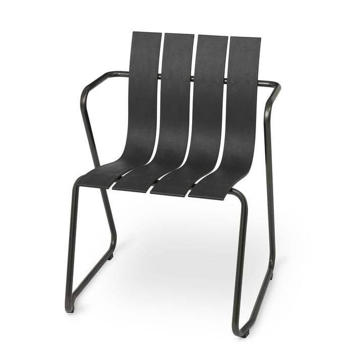 Chaise Ocean Chair de Mater en noir