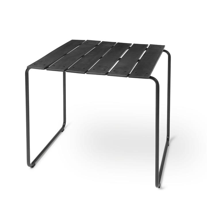 Ocean Table 70 x 70 cm de Mater en noir
