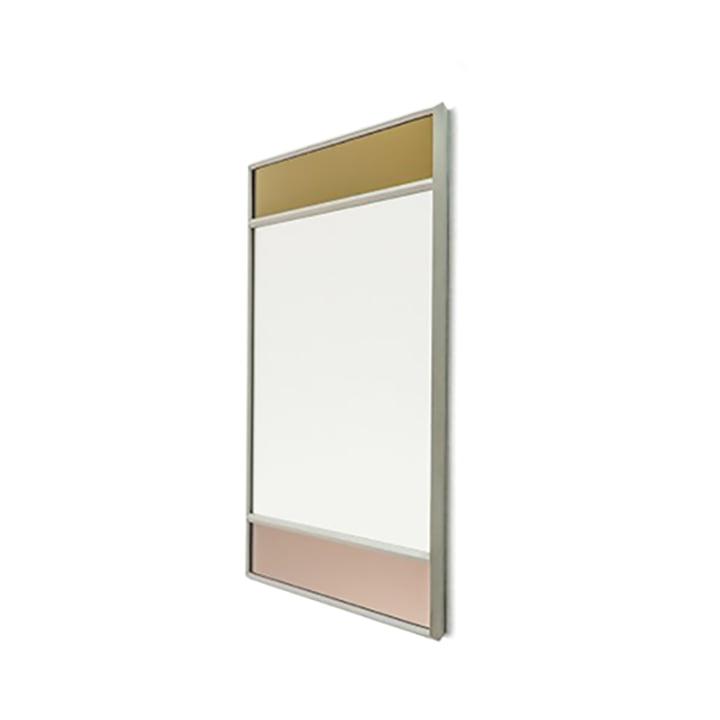 Miroir mural Vitrail 50 x 50 cm de Magis en gris clair / multicolore