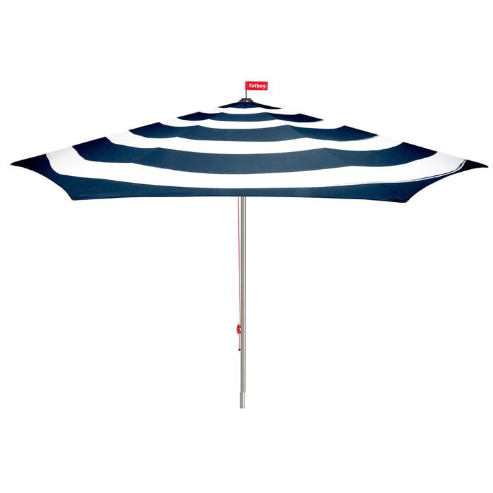 Parasol Stripesol de Fatboy en bleu foncé