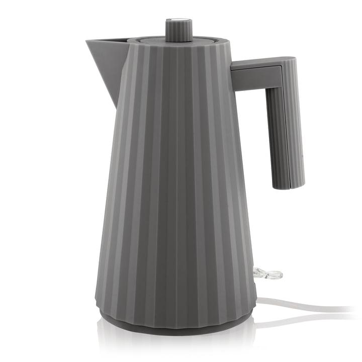 Bouilloire Plissé 1,7 l d'Alessi en gris
