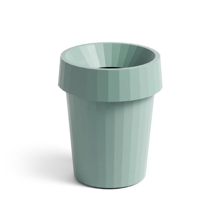 Shade Bin Ø 30 x H 36,5 cm 14 l de Foin en vert poussiéreux