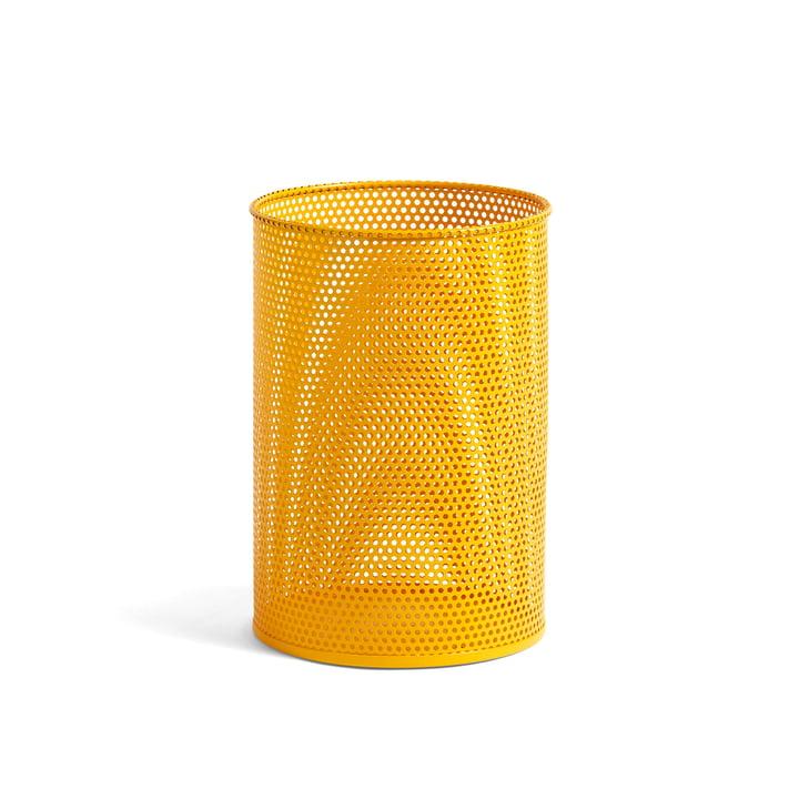 Bac perforé M Ø 25 x H 36 cm à partir de Foin en jaune