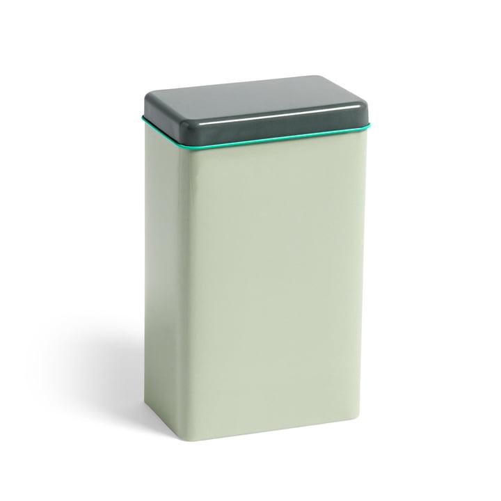 Boîte en fer-blanc par Sowden boîte de conservation par Hay in mint