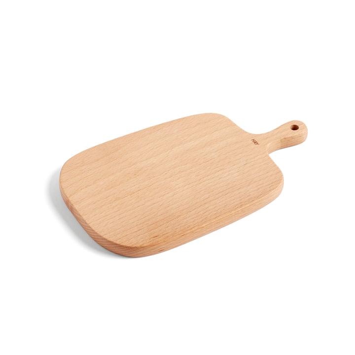 Planche à découper et de service S 27 x 16 cm par Foin en bois de hêtre
