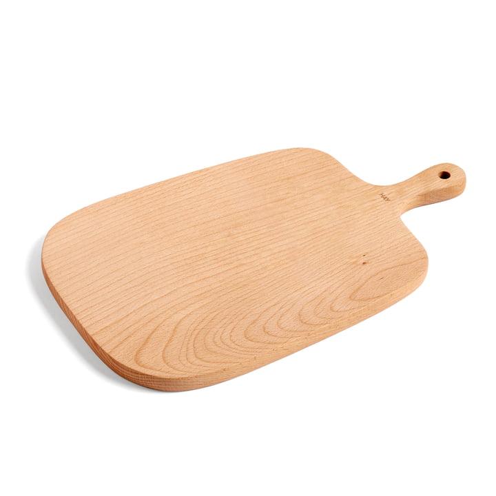 Planche à découper et à servir M 33 x 20 cm par Foin en bois de hêtre