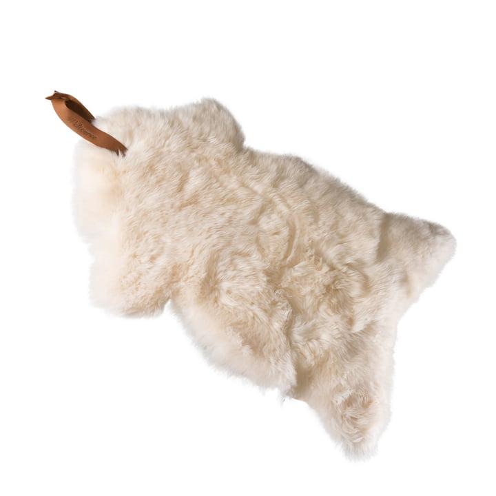 Peau de mouton Manteau de mouton en blanc par Weltevree