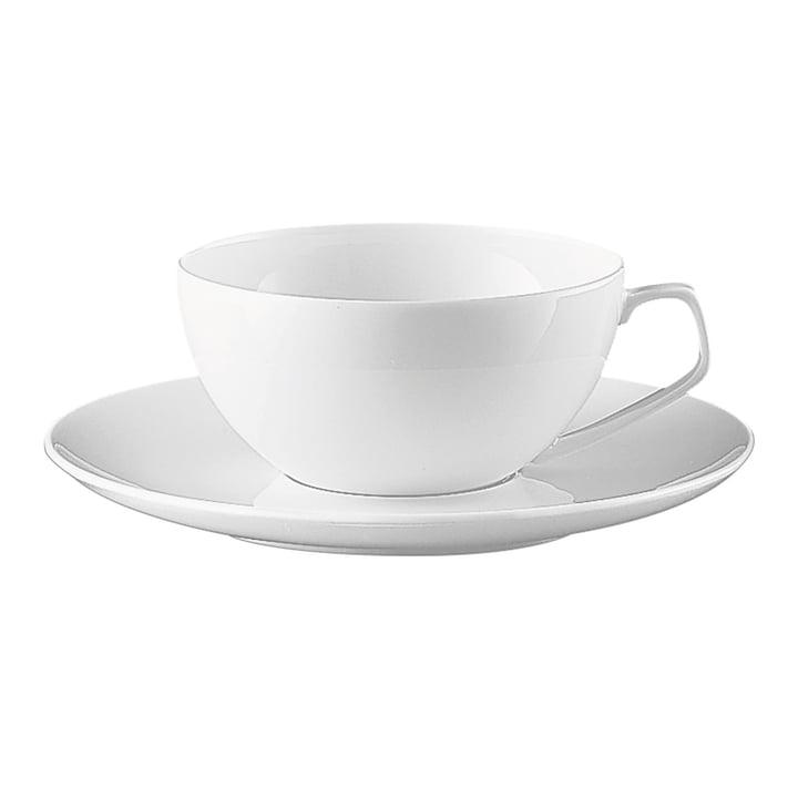 Tasse à thé TAC de Rosenthal en blanc (2 pcs.)