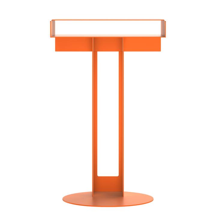 Meta table d'appoint de New Tendency en orange