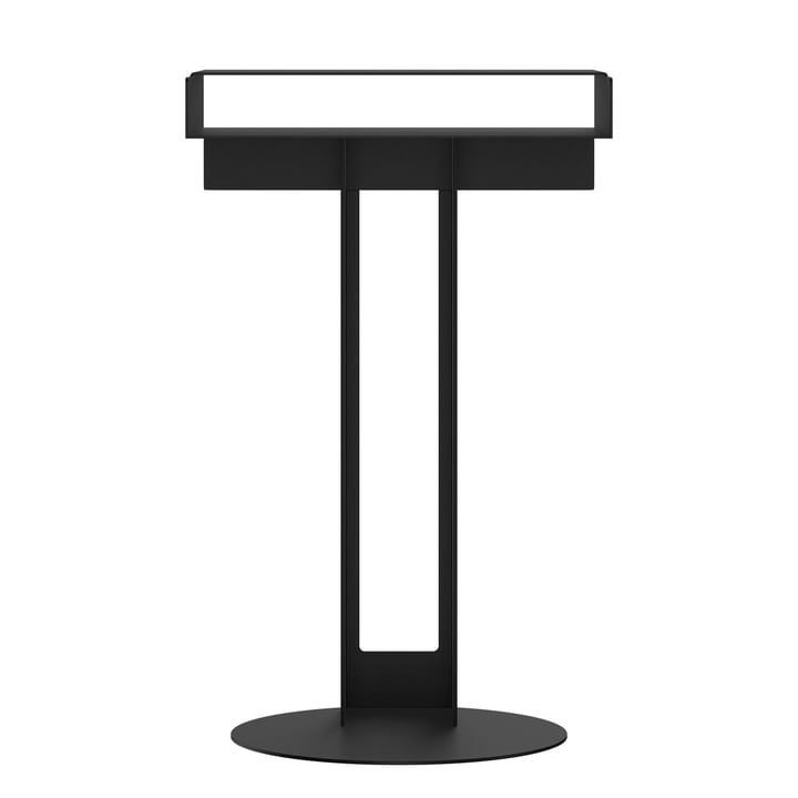 Meta table d'appoint de New Tendency en noir