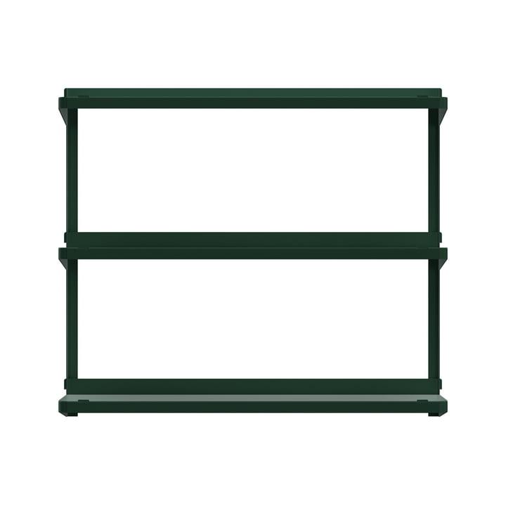 Système d'étagères Click 710 × 210 × 610 mm de New Tendency en vert foncé