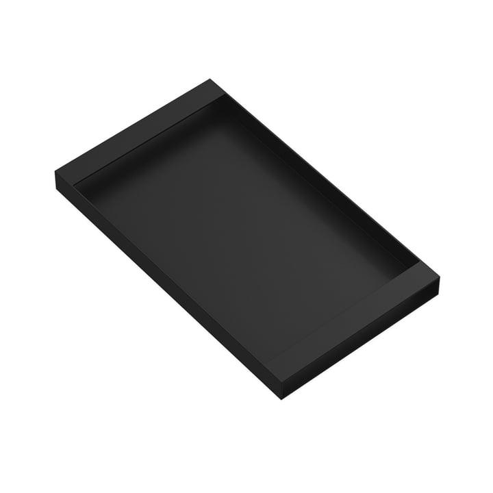 Plateau Torei 320 × 185 × 25 mm de New Tendency en noir