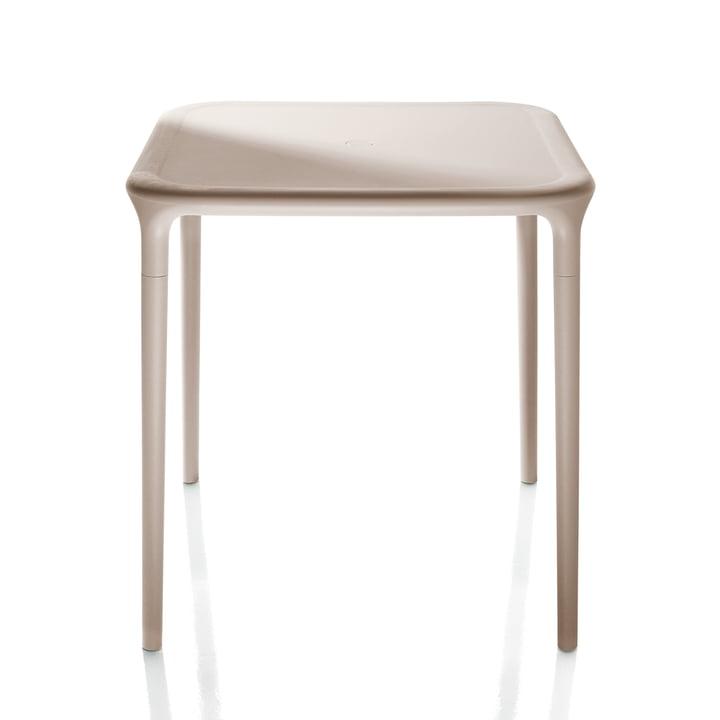 Air Table Outdoor, 65 x 65 cm en beige par Magis