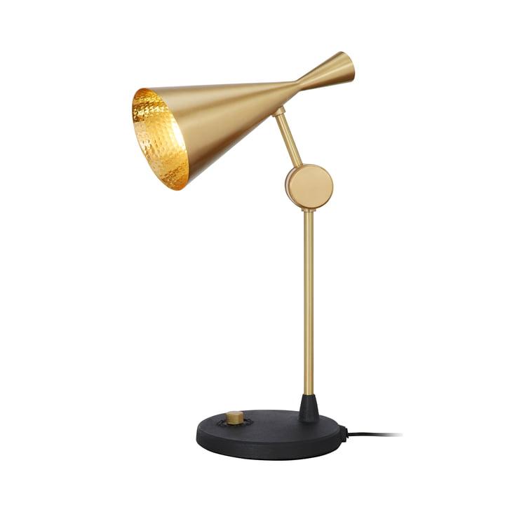 Lampe de table Beat de Tom Dixon en laiton