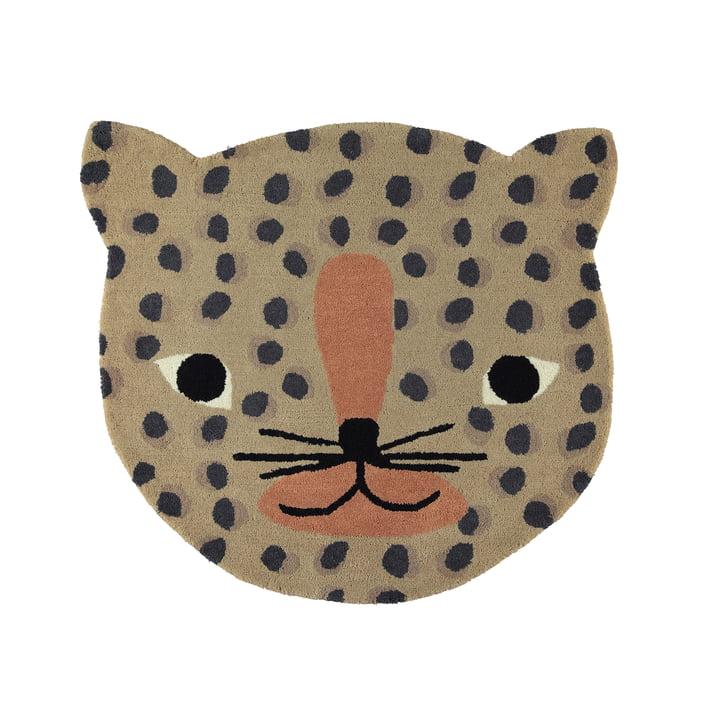Tapis léopard enfant 84 x 94 cm par OYOY