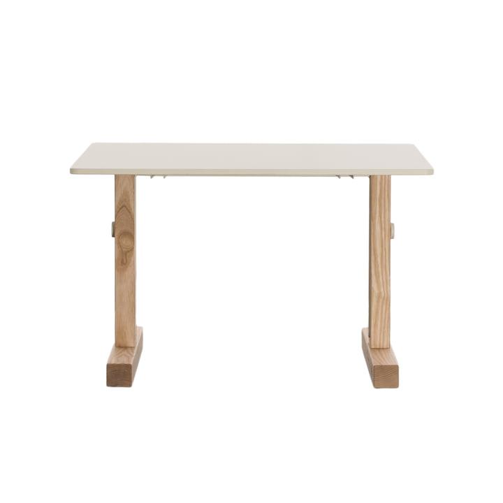 Petite Grande table d'enfant par Magis Me Too en frêne / HPL blanc